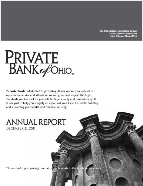 corporate print design annual report two