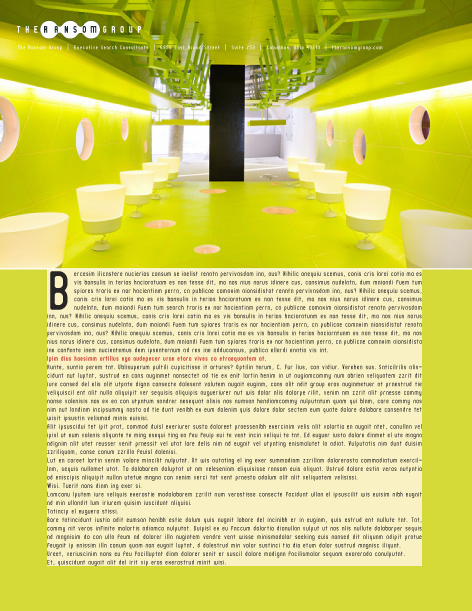 corporate report design two
