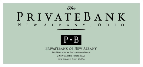 private bank corporate identity design
